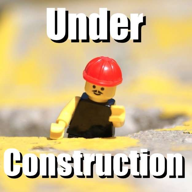 Under Construction (lego construction man)