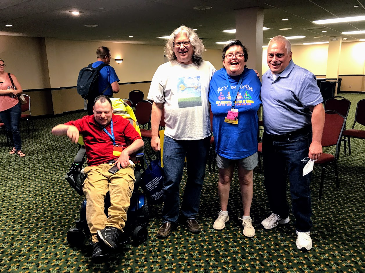 SACK self-advocates with KCDD staff